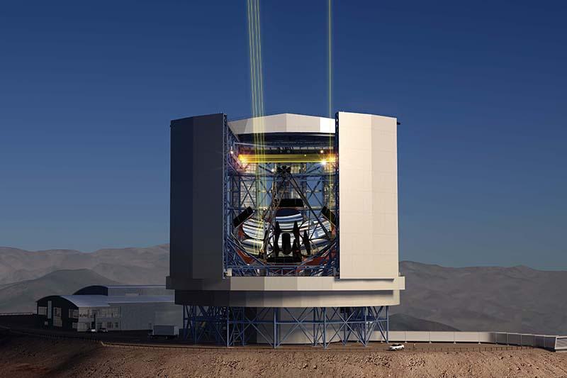 Wielki teleskop magellana u największy teleskop na świecie
